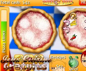 Jeux de serveuse en palace - Jeux gratuit de cuisine de pizza ...
